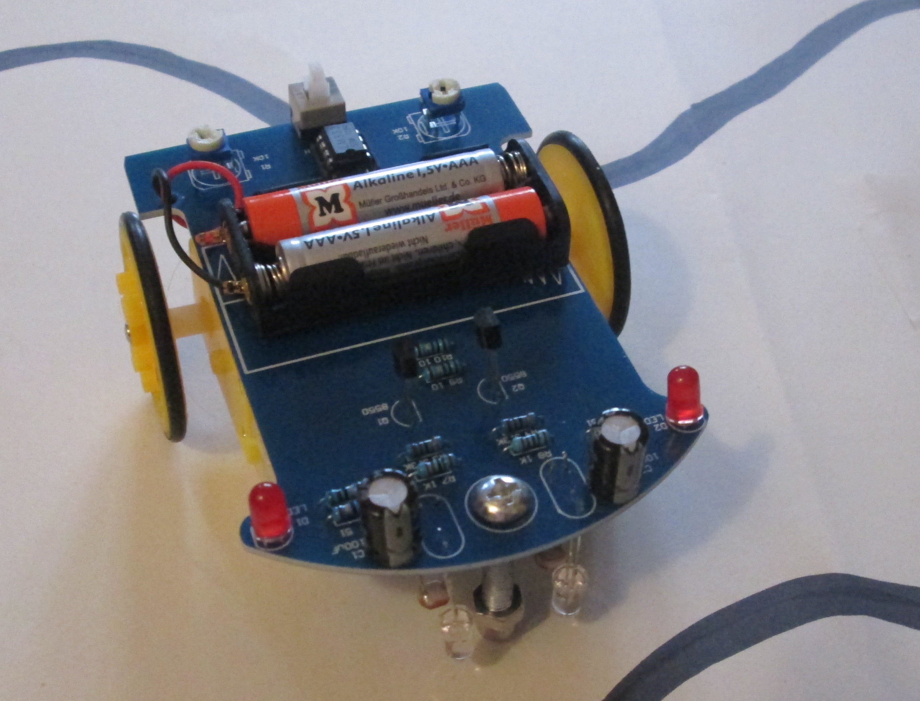 Projekt Roboterauto - Berufliche Schule 1
