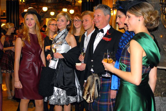 Tartangarde goes Burns Supper