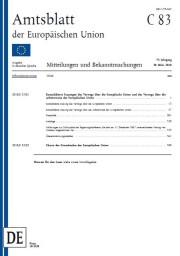 Institutionen Und Eu Recht Europabüro Nürnberg