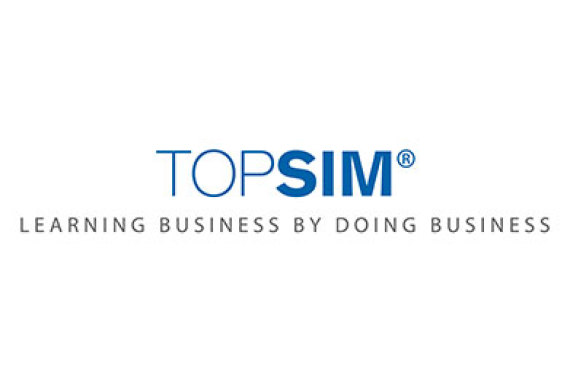 Logo TOPSIM learning business by doing business