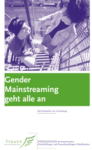 Gender Mainstreaming geht alle an