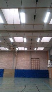 LED Turnhalle Herriedener