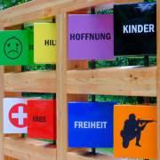Straße der Kinderrechte Station 9 Flüchtlingskinder