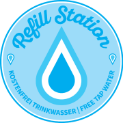 Refill Station Sticker