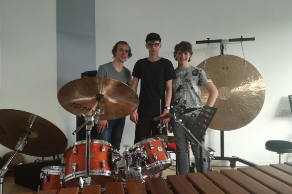 Percussion Trio 55 LW 2018