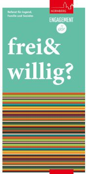 Flyer frei&willig Enagement to go