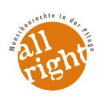 Logo der Initiative all right!