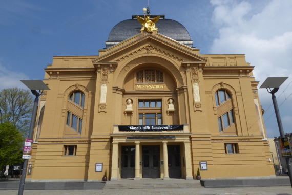 Das Stadttheater in Gera