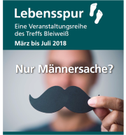 Cover Flyer Lebensspur 2018 - 1