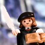 Martin Luther als Playmobilfigur