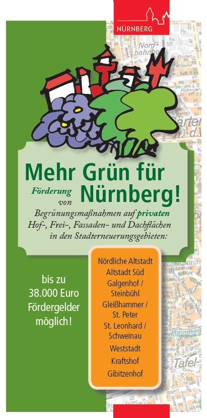 Dr Rost Nürnberg förderung begrünungsmaßnahmen stadtplanungsamt nürnberg