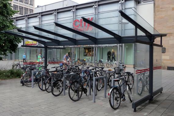 Fahrradparken Verkehrsplanung Nurnberg