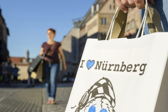Shopping in Nuernberg