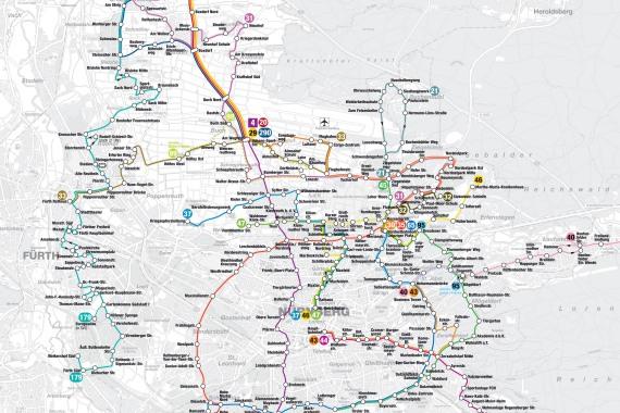 Straßenbahn Am Wegfeld Ringbus Und Busnetz Im Norden