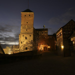 Kaiserburg im Winter