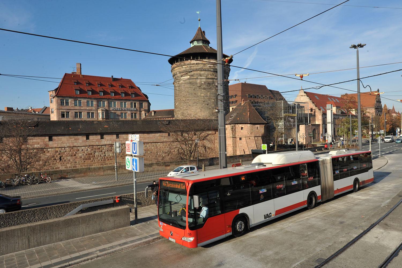 Parken Nürnberg Bahnhof