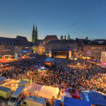 The Old Town will be a joyful stage for the Bardentreffen Music Festival.