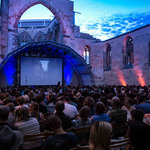 Open Air Kino in der Katharinenruine