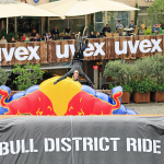 Training am Freitag beim Red Bull District Ride 2017